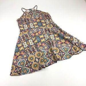 Mossimo Halter Fit&Flare Dress Sz XL Cotton